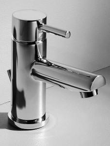 Monobloc taps basin mixer