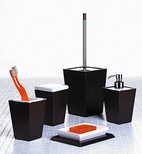 Bathroom Sets on Freestanding Bathroom Accessories Kyoto 5 Piece Set From Homestyle