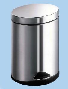 oval pedal bin