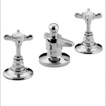 Three Holed Bidet Mixer